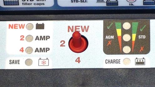 Управление зарядом OptiMate Pro 4