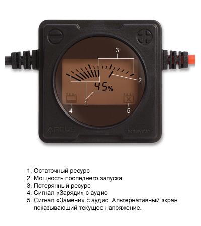 bugs - Монитор аккумулятора BatteryBug BB-SBM12-PS