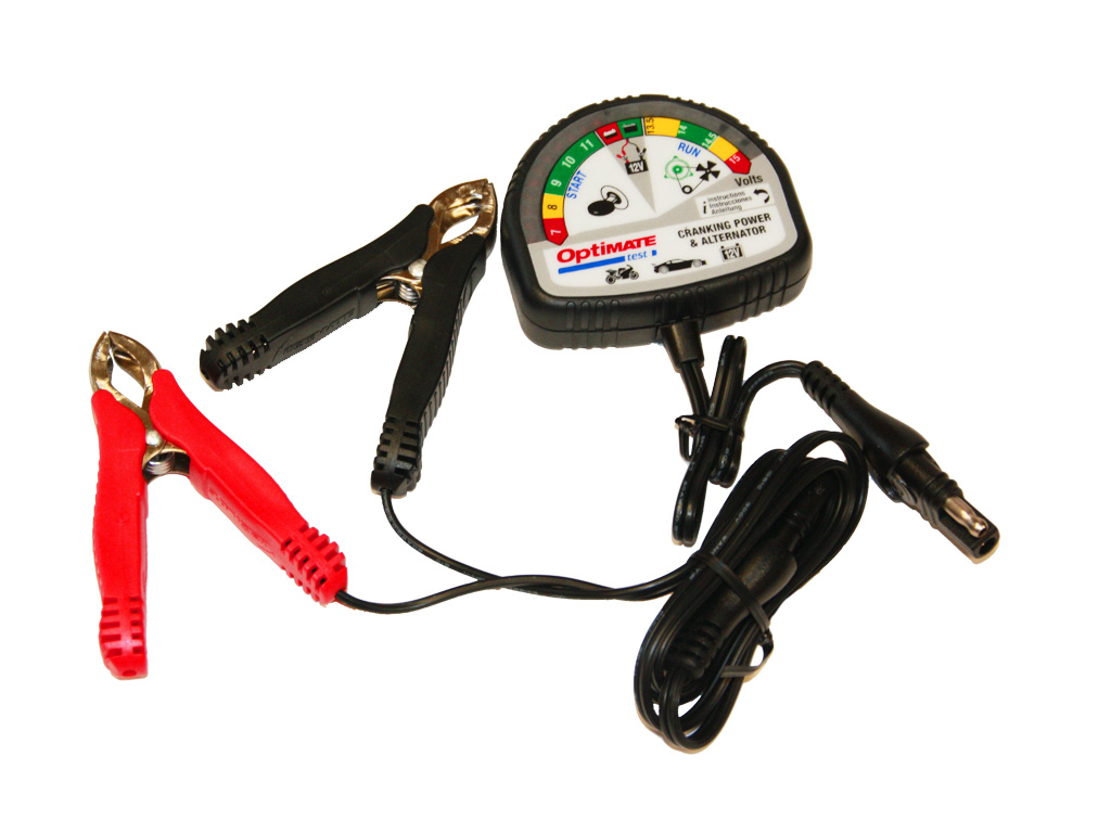 Тестер аккумулятора OptiMate Test TS120