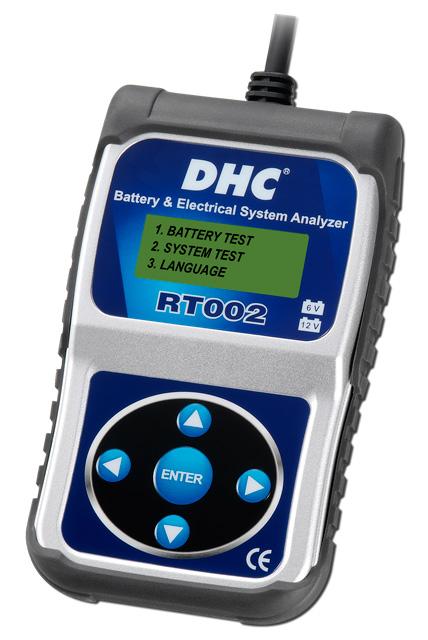 Тестер аккумуляторных батарей DHC RT002