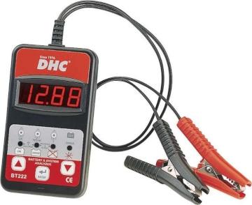 Тестер аккумуляторных батарей BT222 DHC