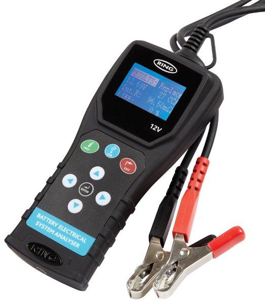 RBA600 тестер аккумуляторов RING