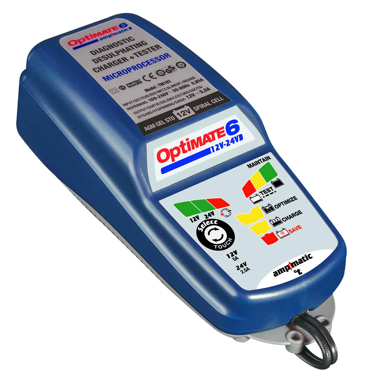 Зарядное устройство Optimate 6 12/24V TM194