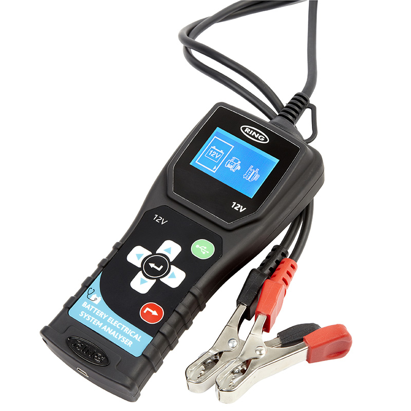 Тестер аккумуляторных батарей Ring RBAG500