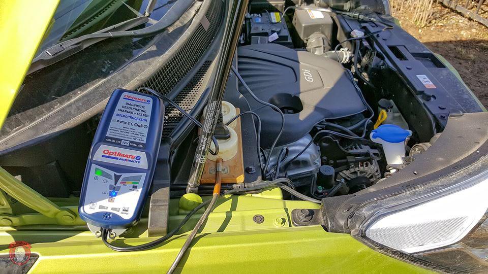 optimate 6 in use - Как выбрать зарядное устройство для аккумулятора?