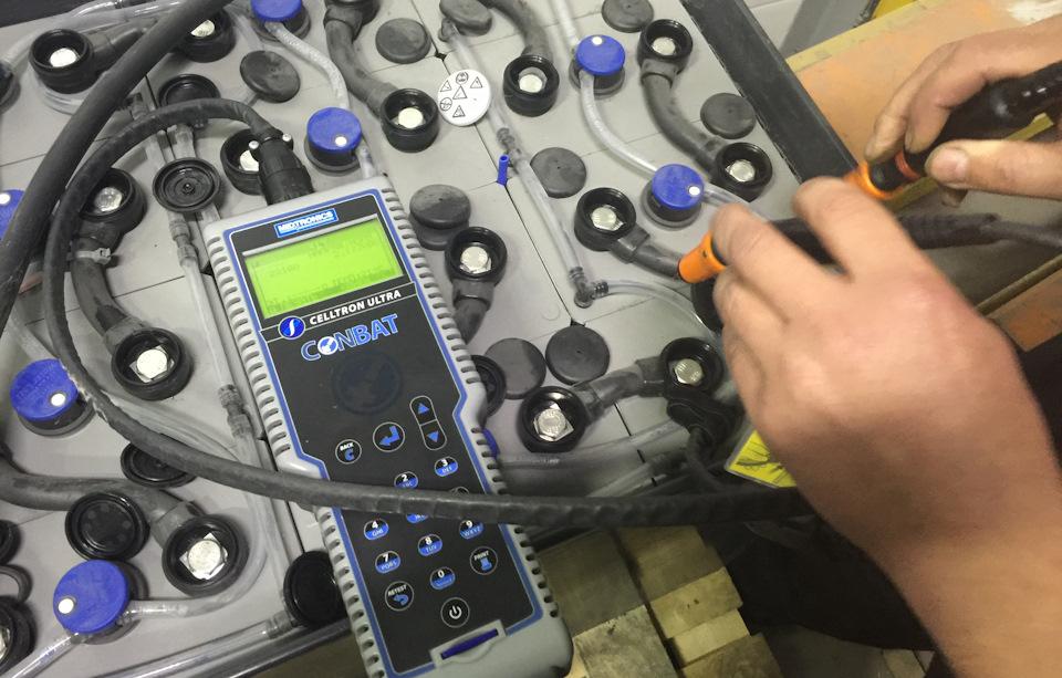 Тестирование тяговых аккумуляторных батарей