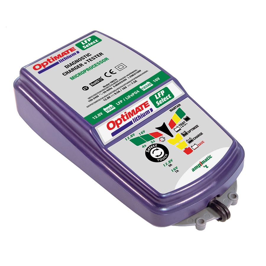 TM270 Зарядное устройство Optimate Lithium 4s/5s