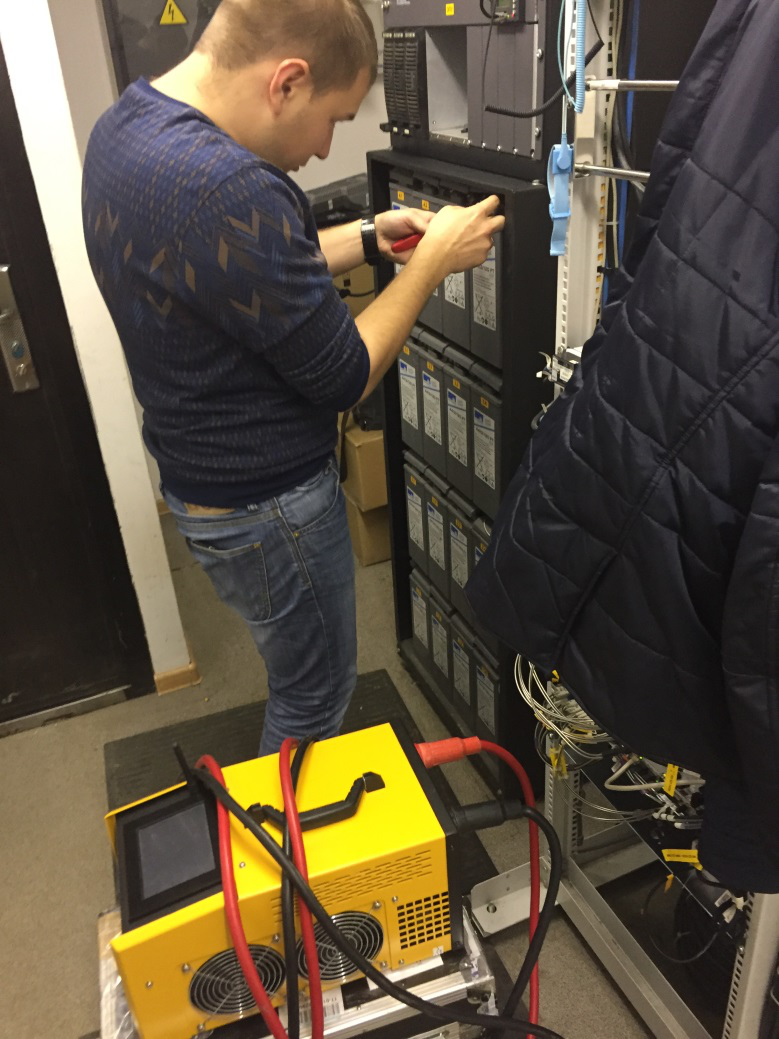 Подключение силовых кабелей