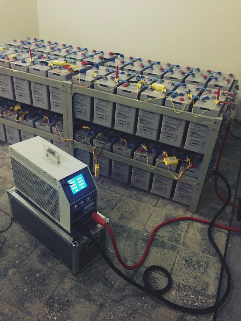 Процесс тестирования BCT-48/300 kit