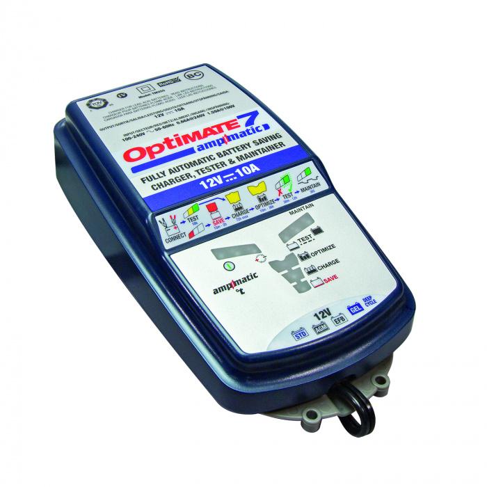 Зарядное устройство автомобильных аккумуляторов Optimate 7 TM254 Ampmatic