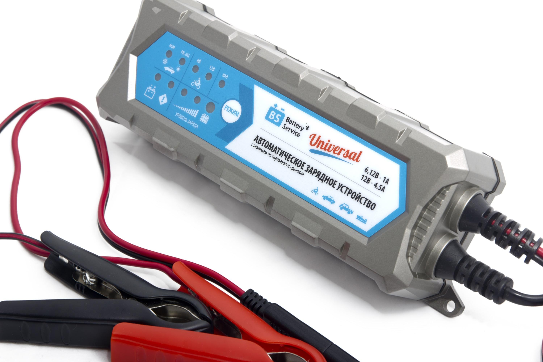 Зарядное устройство аккумуляторов Battery Service Universal PL-C004P