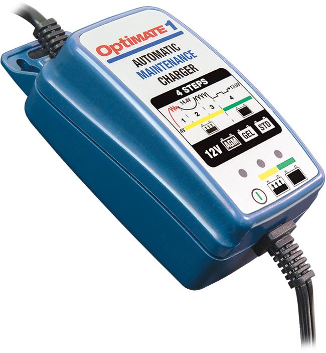 Зарядное устройство автомобильных аккумуляторов optimate 1