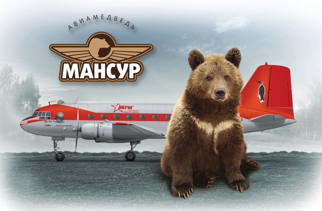 Медведь мансур и зарядное устройство Battery Service PL-C004P