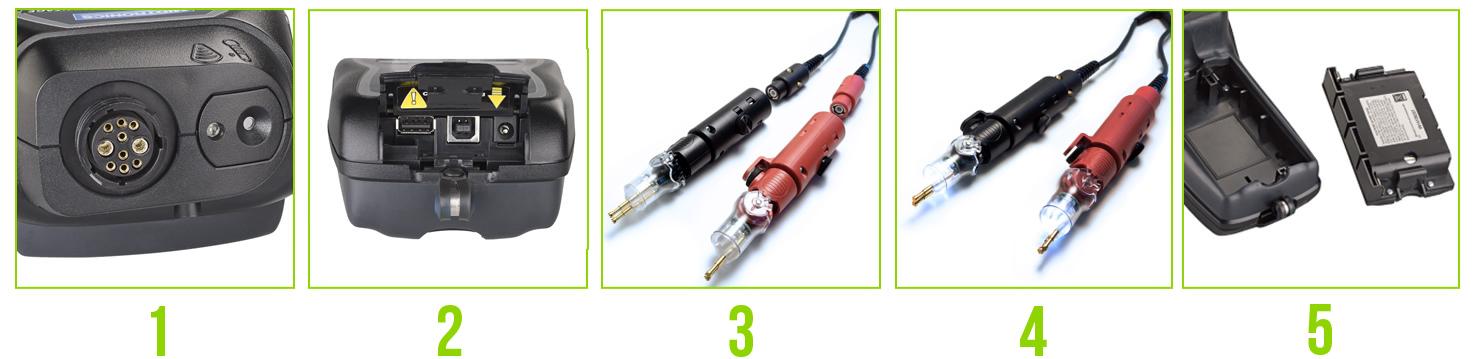CAD features - CAD-5500 Тестер аккумуляторных батарей Celltron Advantage Midtronics