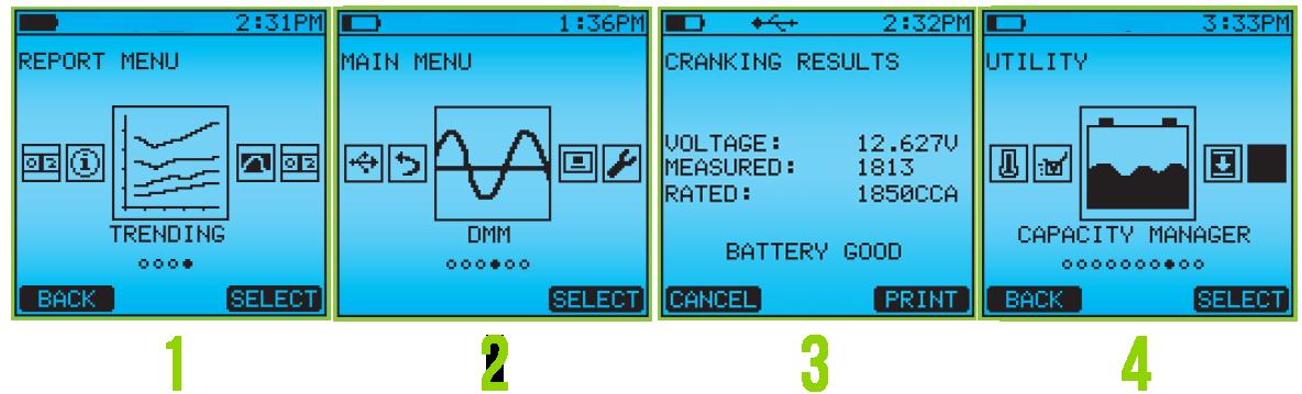numbered add ons2 - CAD-5500 Тестер аккумуляторных батарей Celltron Advantage Midtronics