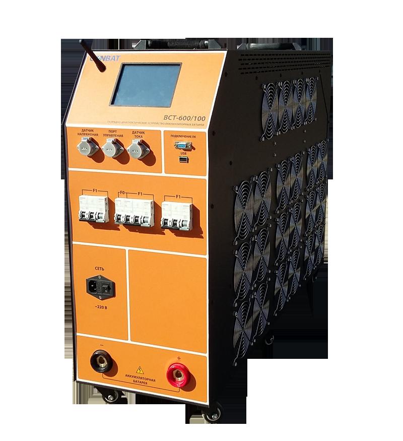 Разрядное устройство аккумуляторных батарей Conbat BCT-600/100