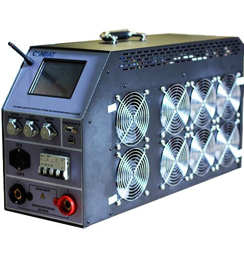 Разрядное устройство аккумуляторных батарей Conbat BCT-60/120