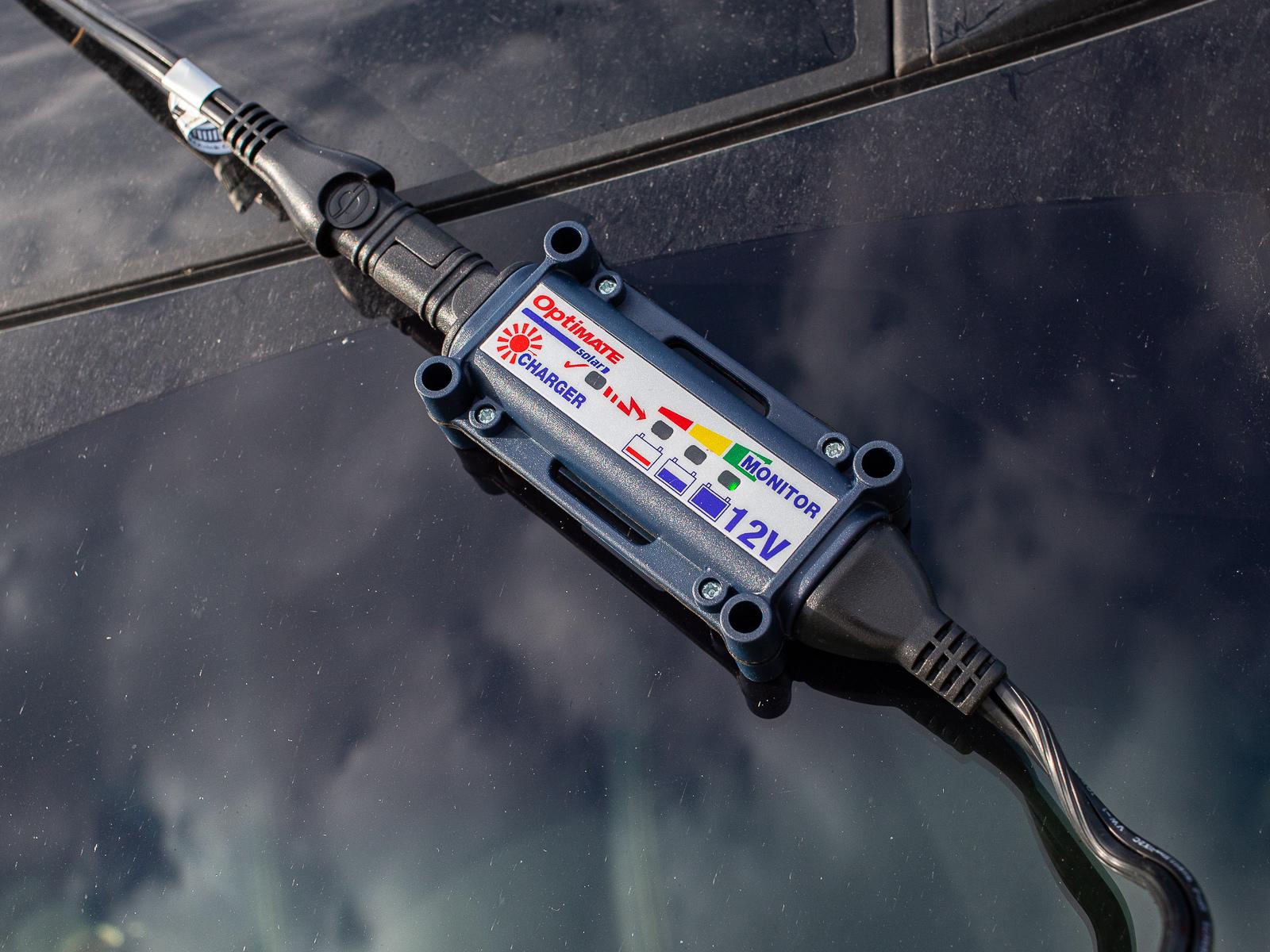 контроллер солнечной батареи панил optimate - Зарядка автомобильного аккумулятора с помощью солнечных батарей
