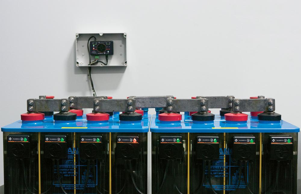 Система контроля уровня электролита аккумуляторов CELLGUARD SYSTEM-ELS+ ELECTROLYTE LEVEL MONITOR
