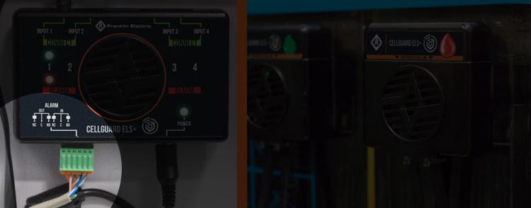 система контроля уровня электролита аккумулятора