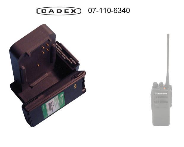 Адаптер Cadex для Motorola HT750 HT1250 HT1550