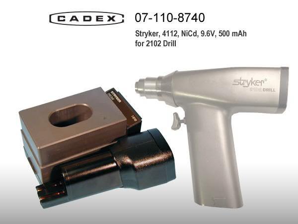 Адаптер Cadex для Stryker 2102 Orthopedic Drill