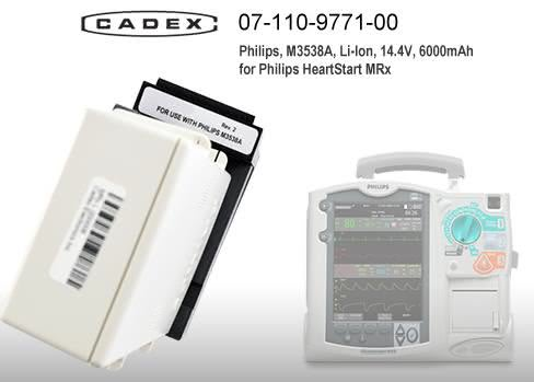 Адаптер Cadex для Philips HeartStart MRx Adapter