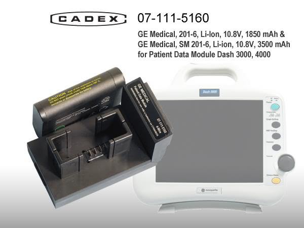 Адаптер Cadex для GE Medical Patient Data Monitor Dash 3000, 4000