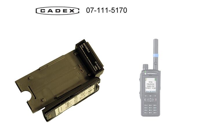 Адаптер Cadex для Motorola MTP6650