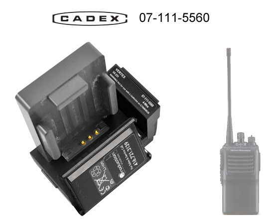 Адаптер Cadex для Vertex VX-200 VX-300 Series