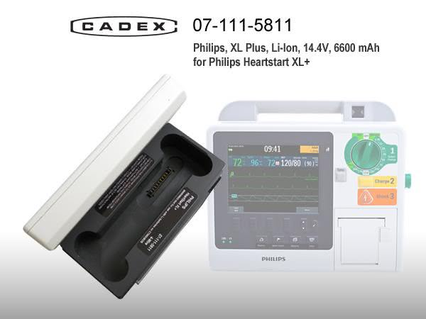 Адаптер Cadex для Philips HeartStart XL+
