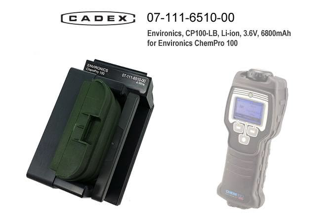Адаптер Cadex для Environics ChemPro 100 Adapter