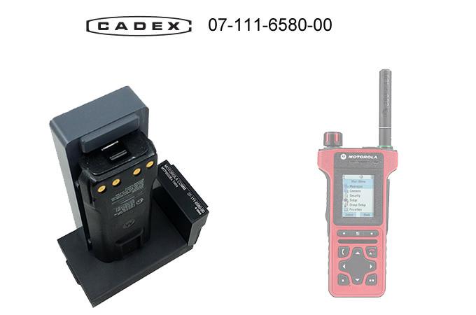 Адаптер Cadex для Motorola MTP8550Ex Tetra Adapter