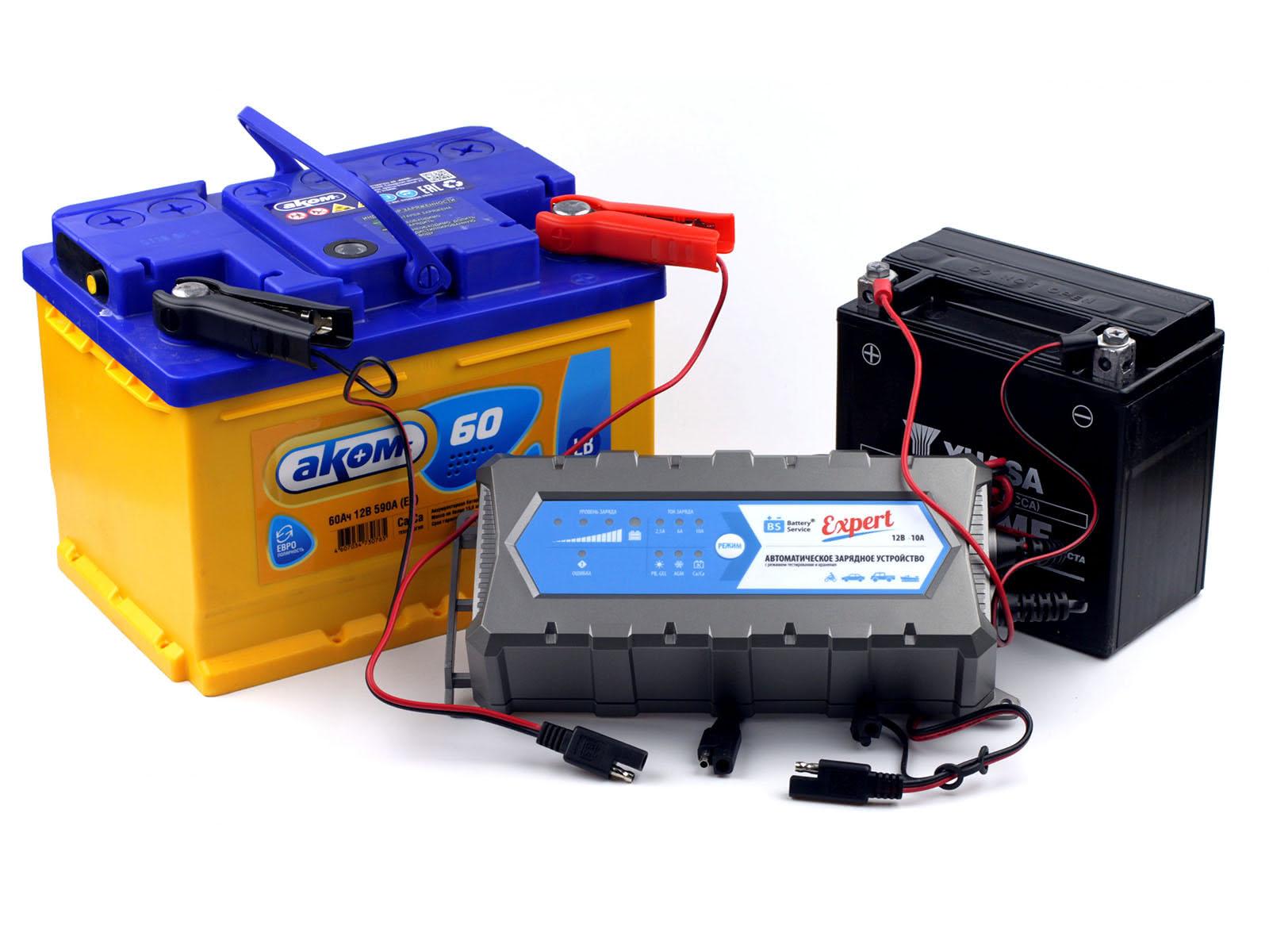 Зарядное устройство Battery Service Expert