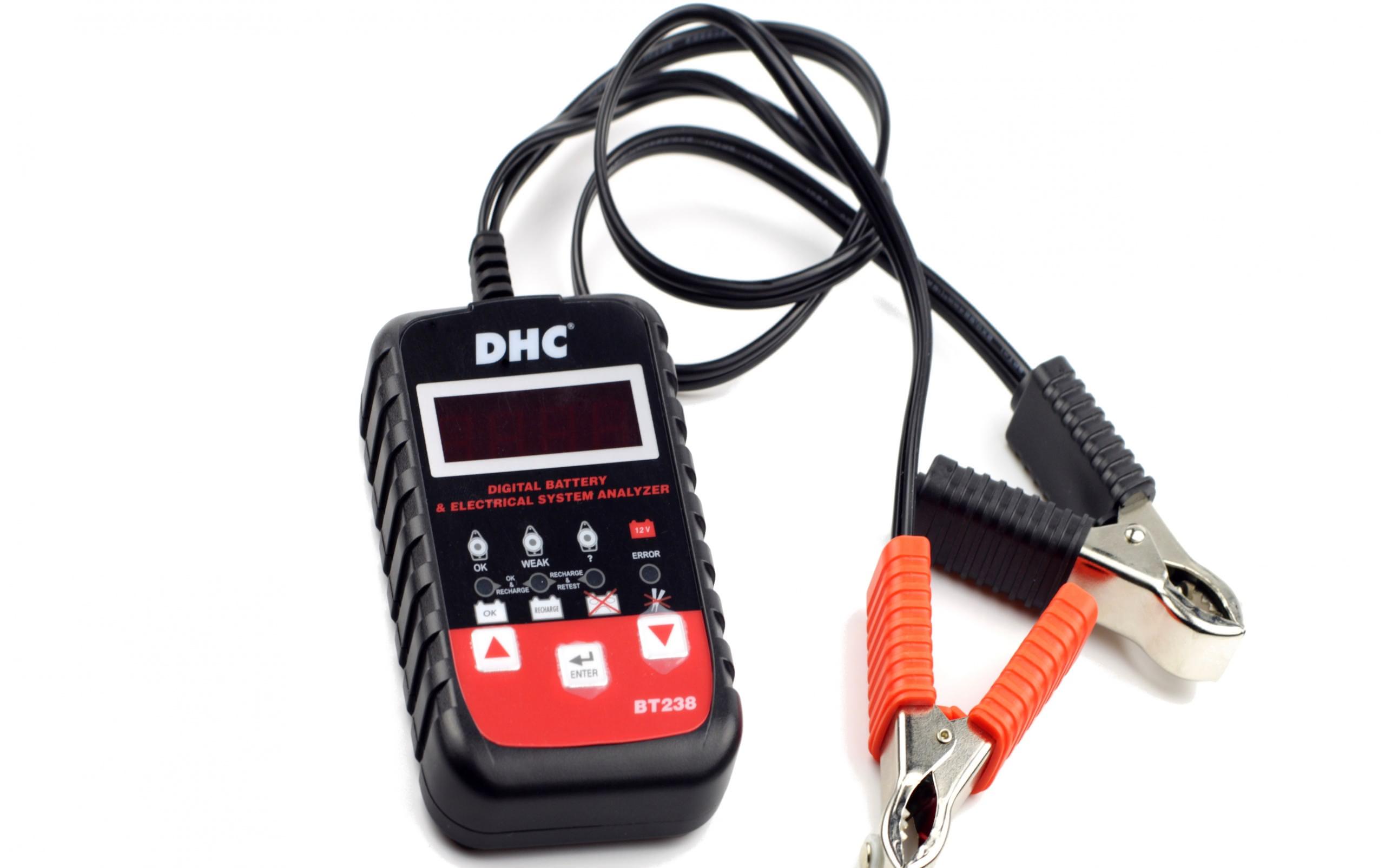 Тестер аккумуляторов BT238 DHC