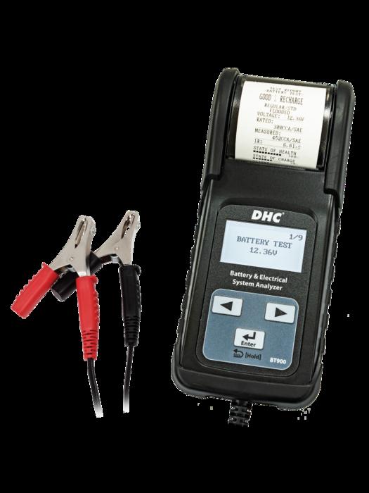 Тестер аккумуляторных батарей BT900 DHC