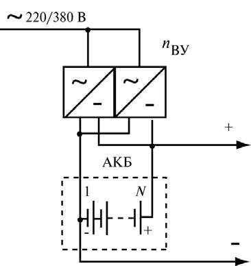 14pic - 1.4. Компоненты и схемы построения систем БП с АКБ