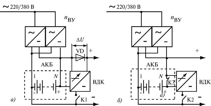 15pic - 1.4. Компоненты и схемы построения систем БП с АКБ