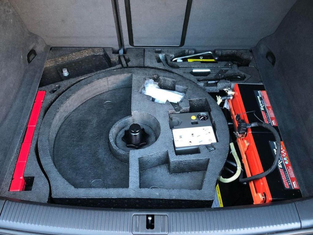Audi RS3 8P аккумулятор 1024x768 - Сдвоенные Odyssey Battery PC1100 в Audi RS3 (8P)