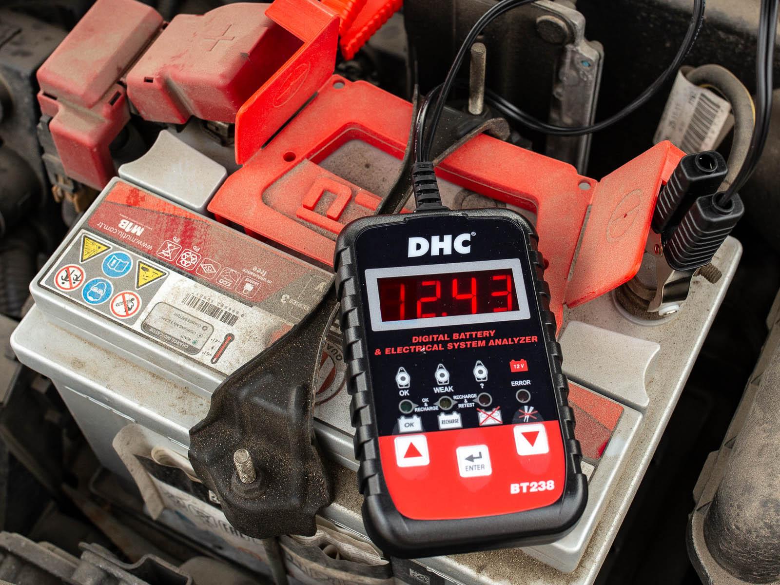 Тестируем АКБ с помощью DHC BT238