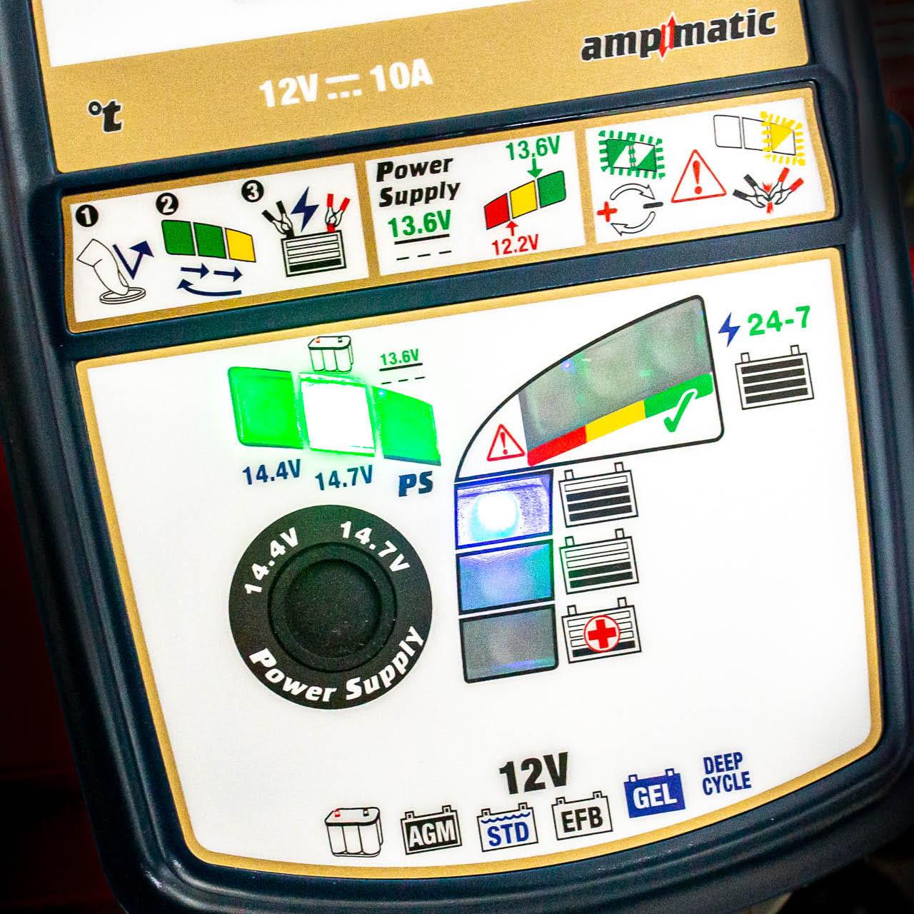 Видео инструкция к OptiMate 7 SELECT GOLD (TM250 v3)