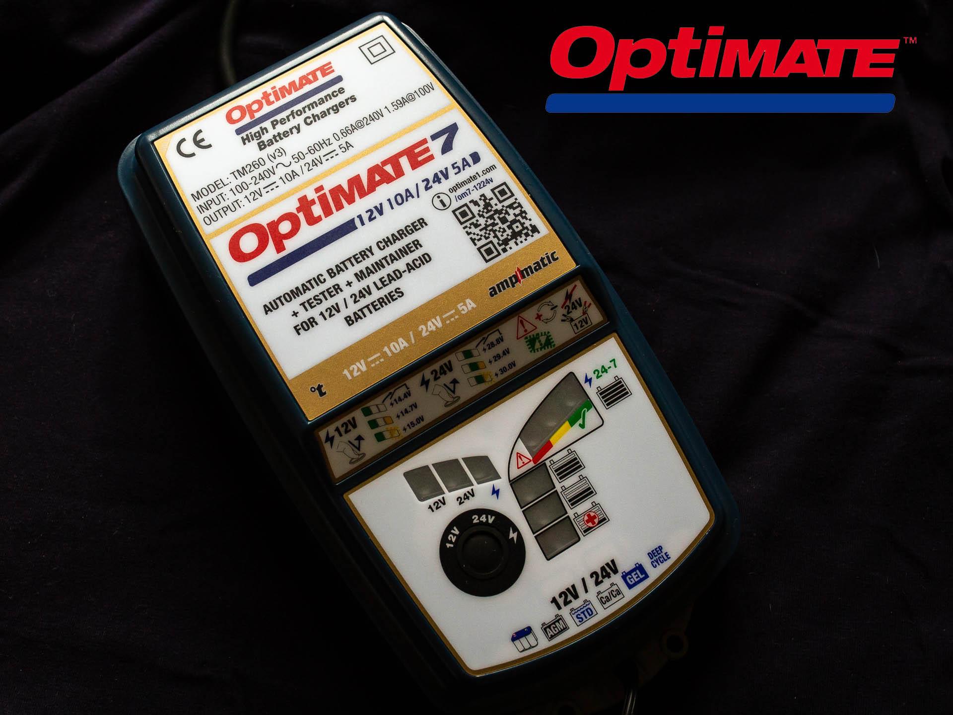 Зарядное устройство OptiMate 7 12/24V GOLD