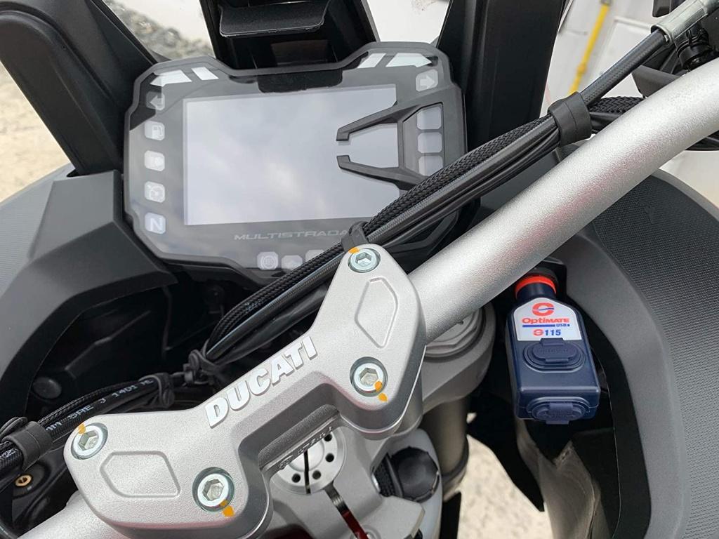 OPTIMATE O115 1024x768 - Зарядное устройство O115 для Ducati Multistrada