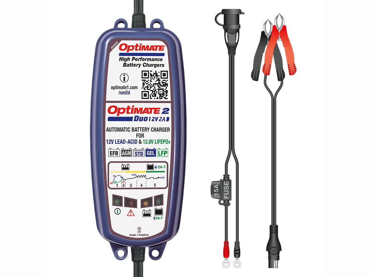 OptiMate 2 DUO (TM550)