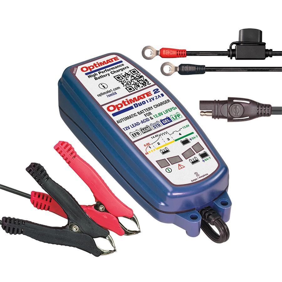 Зарядное устройство OptiMate 2 DUO  TM550