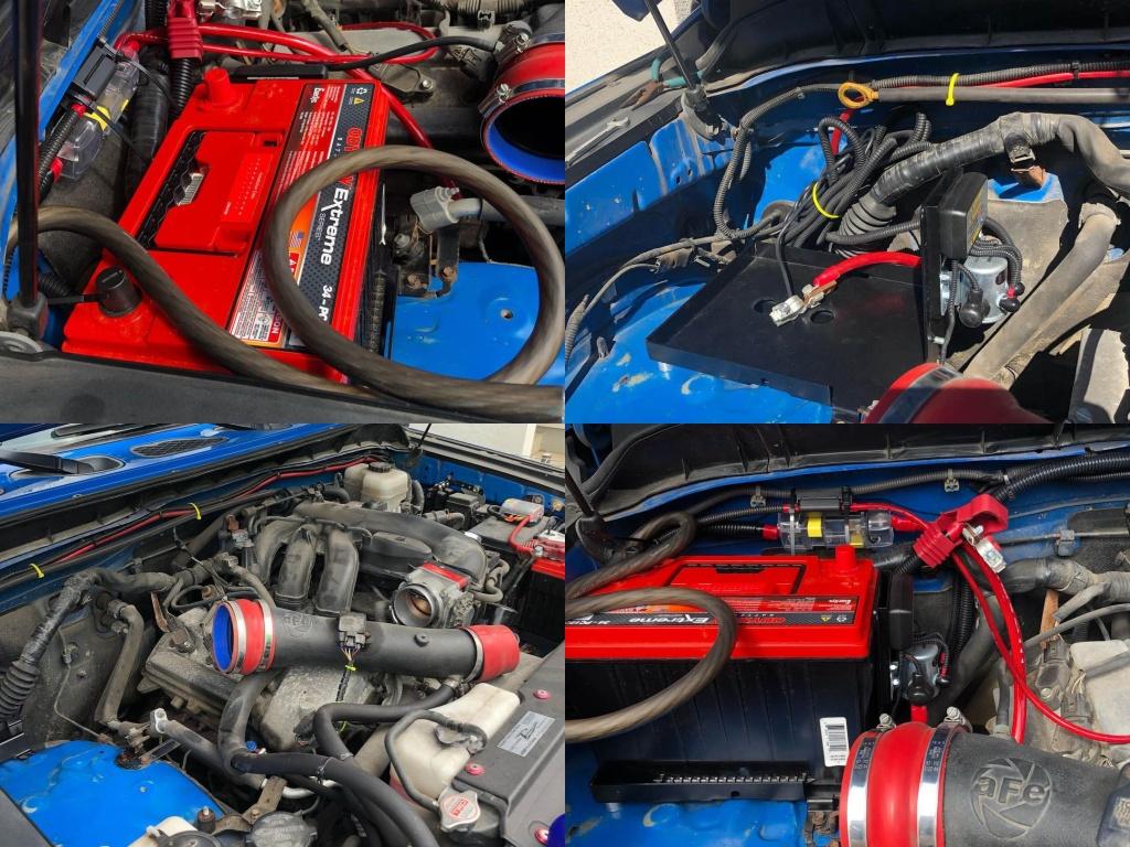 odyssey fj cruiser 1024x768 - Дополнительный аккумулятор Odyssey на Toyota FJ Cruiser